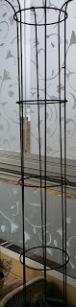 Klematis på balkong