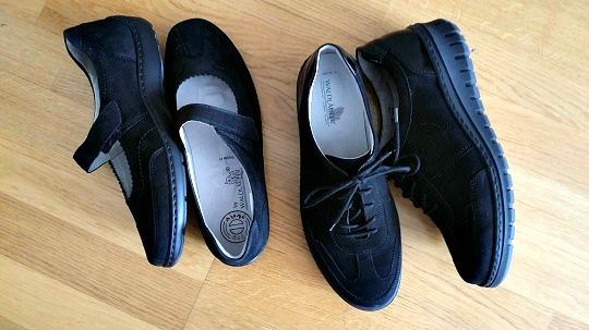 bra skor för ömma fötter