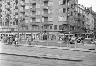EPA på Odenplan 1952
