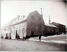 Hörnet Drott-Tegnérg 15 mars 1906