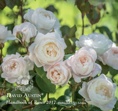 The 2017 David Austin Handbook of Roses is now available. The elegant, encyclopedic catalog that could double as a coffee-table book is free to U.S. and Canadian gardeners from www.davidaustinroses.com/us/. The handbook and related website feature David Austin Roses' complete 2017 North American collection of bare root roses, including all 114 English Rose varieties bred by famed British rose hybridizer David Austin that are currently available on this side of the Atlantic.