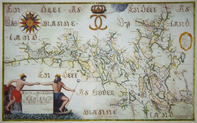 Gripenhielms_Mälarkarta_kopia_1690