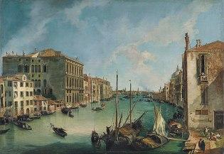 CANALETTO _El Gran Canal desde San Vío, Venecia, .c. 1723-1724_76 (1958.8)