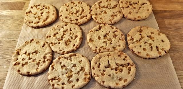 knäckcookies